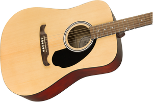 Fender FA-125 Dreadnought Acoustic Natural w/ Gig Bag