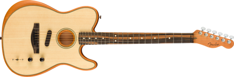 Image of Fender American Acoustasonic Telecaster Ebony Fingerboard Natural