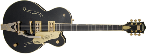Gretsch® celebrates the incredible talents of revered country musician Steve Wariner with the G6120T-SW Steve Wariner Signature Nashville® Gentleman with Bigsby®.