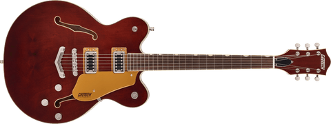 GRETSCH G5622 ELECTROMATIC® CENTER BLOCK DOUBLE-CUT WITH V-STOPTAIL - AGED WALNUT