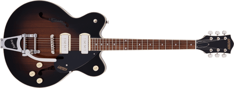 G2622T-P90 STREAMLINER™ CENTER BLOCK DOUBLE-CUT P90 WITH BIGSBY - BROWNSTONE