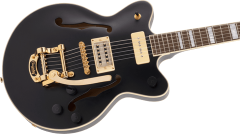 Image of Gretsch G2655TG-P90 Limited Edition Streamliner Center Block Jr. Matte Black