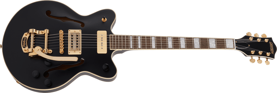 Gretsch G2655TG-P90 Limited Edition Streamliner Center Block Jr. Matte Black