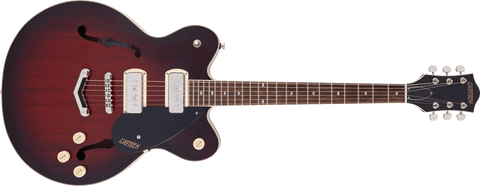 Image of GRETSCH G2622-P90 STREAMLINER™ CENTER BLOCK DOUBLE-CUT P90 WITH V-STOPTAIL - CLARET BURST