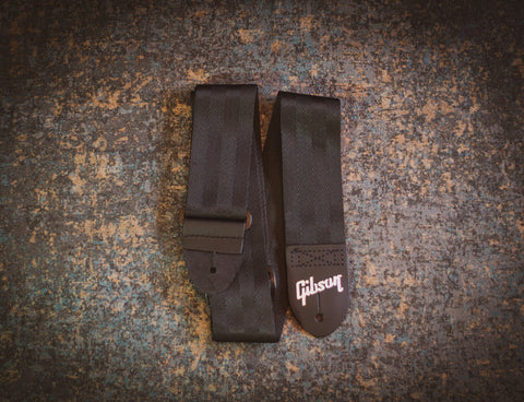 Gibson The Seatbelt Guitar Strap Black