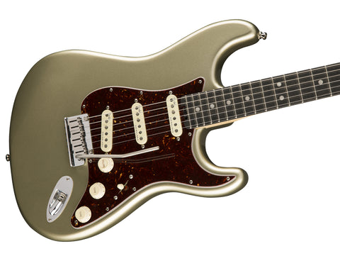 Image of Fender American Elite Stratocaster Champagne Ebony