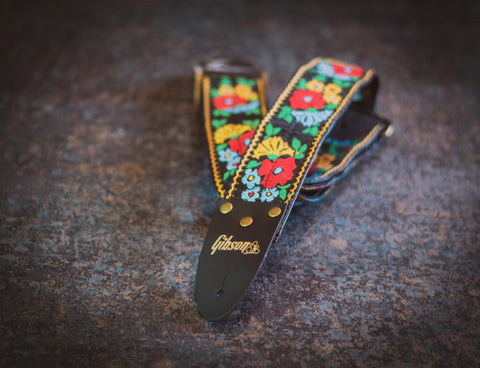 Gibson The Garden Vintage Original Collection Guitar Strap