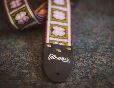 Gibson The Primrose Vintage Original Guitar Strap