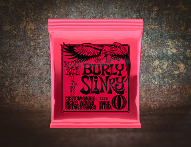 Ernie Ball 2226 Burly Slinky Electric Guitar 6 Strings 11-52