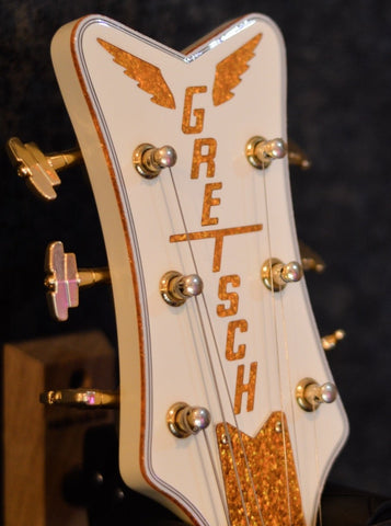 Gretsch G6134T-58 Vintage Select '58 Penguin Electric Guitar Music Bros. Ltd Headstock