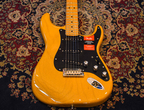 Fender Limited Edition American Professional Stratocaster Ash Body 2019 Butterscotch Blonde