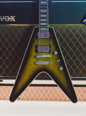 Epiphone Prophecy Flying V Yellow Tiger Aged Gloss