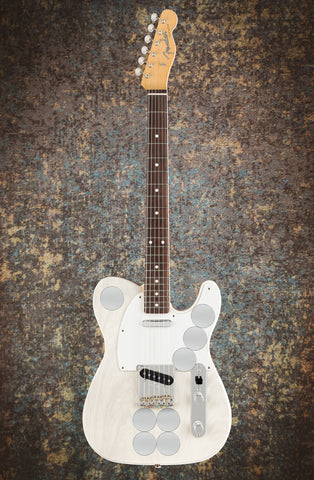 Fender Jimmy Page Mirror Telecaster - White Blonde