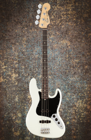 Image of Fender American Performer Jazz Bass Arctic White front