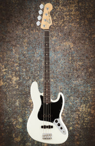 Fender American Performer Jazz Bass Arctic White front