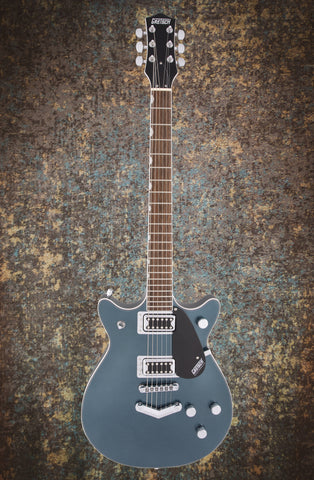 Image of Gretsch G5222 Electromatic Double Jet BT Jade Grey Metallic