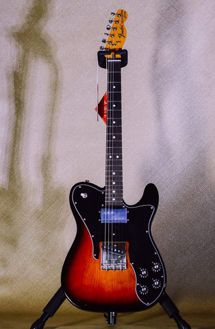 Image of Fender American Original 70s Telecaster Custom 3-Color Sunburst front music bros