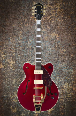 Gretsch G2622TG-P90 Limited Edition Streamliner Center Block P90 Candy Apple Red