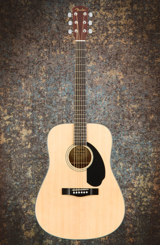 Fender CD-60 V3 Acoustic Dreadnought Natural
