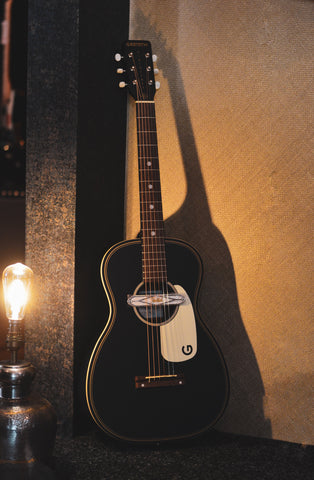 Image of Gretsch G9520E Gin Rickey Electro-Acoustic Parlour in Smokestack Black