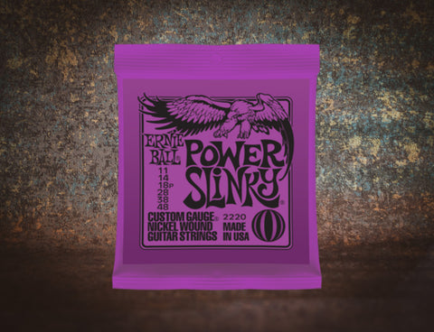 Ernie Ball 2220 Power Slinky Electric 11-48
