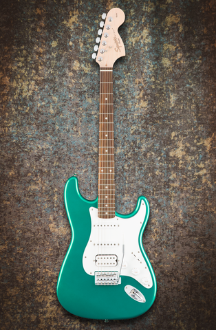 Image of Squier Affinity Series Stratocaster HSS Race Green