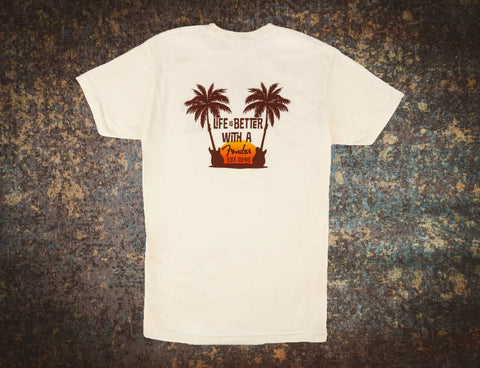 Fender Twin Palms T Shirt Large