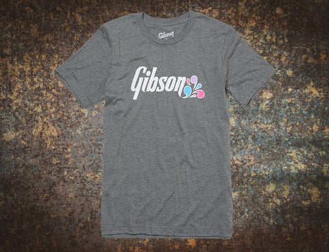 Gibson Floral Tee T Shirt Large