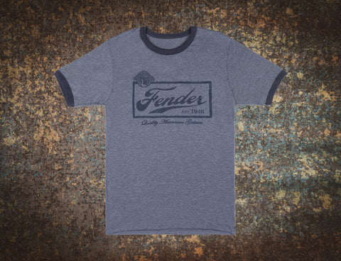 Fender Quality American T Shirt XL Extra Large