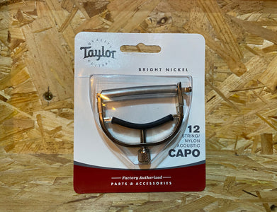 Taylor 12 String/Nylon Capo Bright Nickel