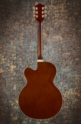 Image of GRETSCH G2410TG STREAMLINER™ HOLLOW BODY SINGLE-CUT WITH BIGSBY® AND GOLD HARDWARE - SINGLE BARREL STAIN