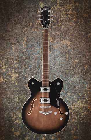 GRETSCH G5622 ELECTROMATIC® CENTER BLOCK DOUBLE-CUT WITH V-STOPTAIL - BRISTOL FOG