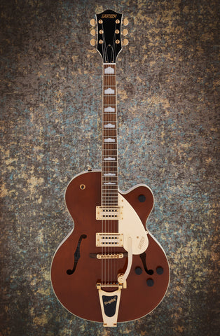 GRETSCH G2410TG STREAMLINER™ HOLLOW BODY SINGLE-CUT WITH BIGSBY® AND GOLD HARDWARE - SINGLE BARREL STAIN