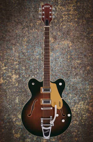 Image of GRETSCH G5622T ELECTROMATIC® CENTER BLOCK DOUBLE-CUT WITH BIGSBY - SINGLE BARREL BURST
