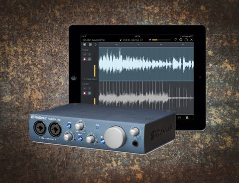 PreSonus AudioBox iTwo MAC/PC/iPad Audio Interface