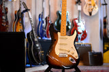 Fender Eric Johnson Thinline Stratocaster with Maple Fretboard 2 Color Sunburst