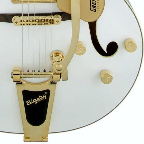 Image of Gretsch G5420TG Factory Special Run Electromatic Blacktop FilterTron White Gold