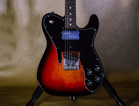 Image of Fender American Original 70s Telecaster Custom 3-Color Sunburst front body