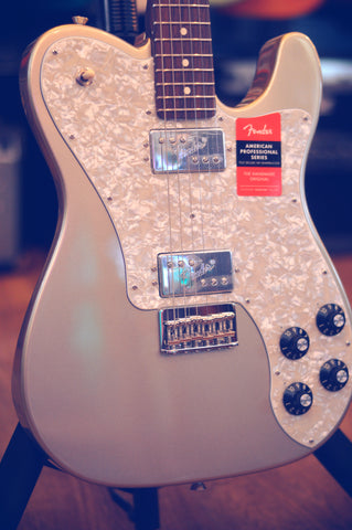 Image of Fender Limited Edition American Professional Telecaster Deluxe with Rosewood Neck 2019 Champagne