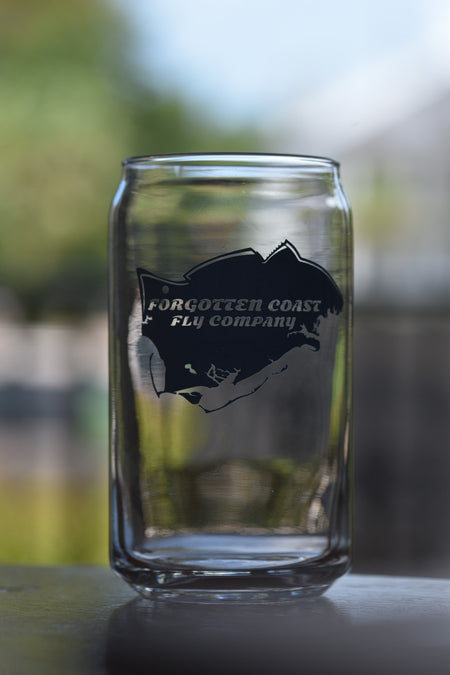 Forgotten Coast Fly Company Pint Glasses