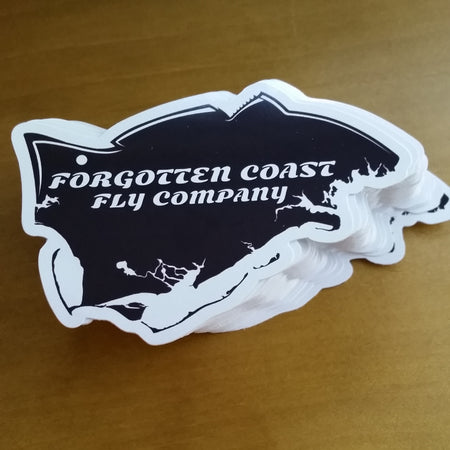 Forgotten Coast Fly Company Sticker