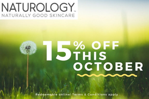 15% OFF ALL OCTOBER
