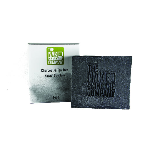 Charcoal & Tea Tree Natural Clay Soap