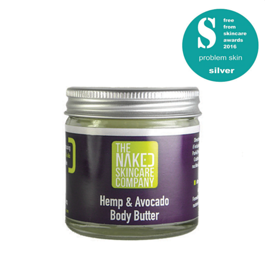 Hemp and Avocado Body Butter 60g