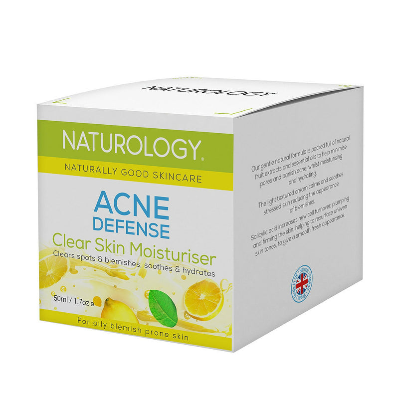 Naturology skin care - how to get rid of acne