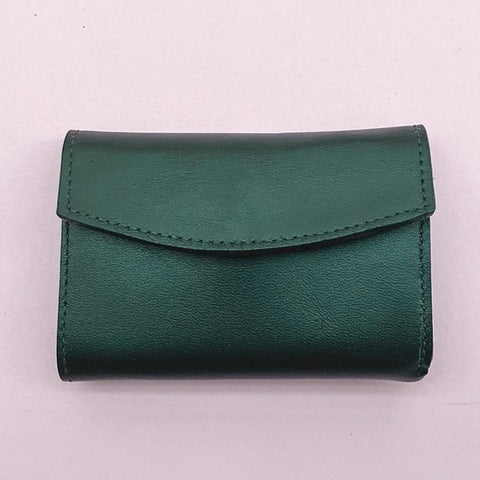 Mini Wallet - British racing Green
