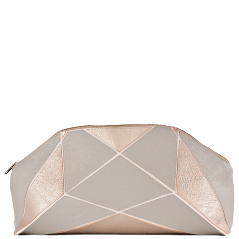 Fold it! XXL Clutch - Grey / Metallic