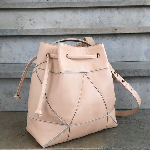 Fold it! Bucket bag - Peach
