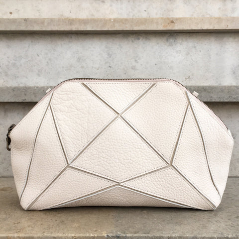 Fold it! Cross body clutch - Ivory