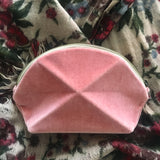 Pyramid cosmetic bag - Rose Velvet